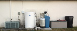 Before - NE Cape Coral Water Softener and Aerator